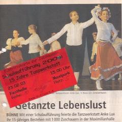 2003-Schulaufführung